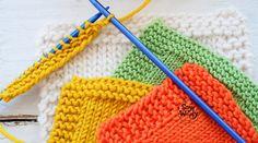 Consejos para mejorar los bordes del tejido dos agujas palillos tricot calceta