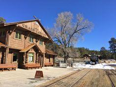 Train Depot at The Grand Canyon