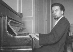 Giacinto Scelsi (1905-1988), Italian Composer who Also Wrote Surrealist Poetry in French.