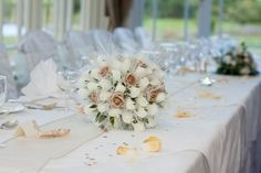 Gougane Barra Hotel's dining room ready for Eileen and Eric's wedding West Cork, Wedding Gold, Romantic Weddings, Dining Room, Table Decorations, Home Decor, Decoration Home, Room Decor, Home Interior Design