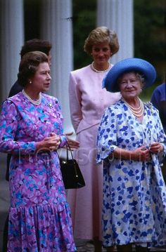 August 4 1988 Queen Mother's 88th birthday