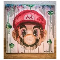 """So awesome!  Follow the artist:  @linacatrina  Found via @imaginationarts  #mario #artbotic #artist #art #"" Photo taken by @artbotic on Instagram, pinned via the InstaPin iOS App! http://www.instapinapp.com (06/29/2015)"