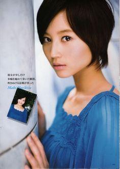more Maki Horikita short hair! she has the best/cutest short haircuts ever!