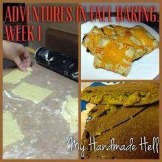 My Handmade Hell: Adventures in Fall Baking Week 1: The Pumpkin Effort