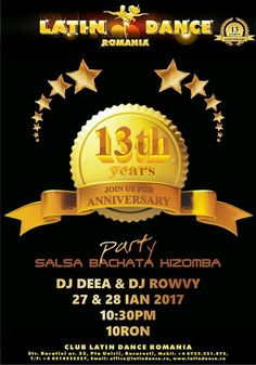 Latin Dance Romania ~ 13th Years Anniversary Party