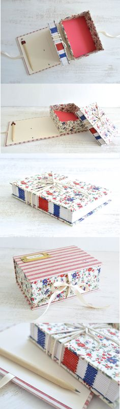 Another lovely exposed spine book!