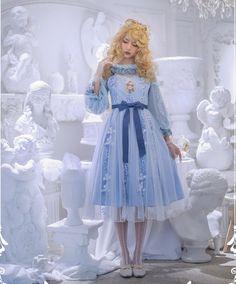 Witch Fashion, Fashion Wear, Fashion Dresses, Fasion, Girls Petticoat, Real Costumes, Lolita Cosplay, Gothic Lolita Fashion, Lolita Dress