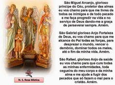 Anna Lucia Almeida Barreto - Oração dos três arcanjos