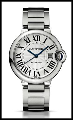 Buy used authentic Cartier Ballon Bleu watch in Stainless Steel. Certified pre owned Cartier watches for sale at the best price. Stainless Steel Watch, Stainless Steel Bracelet, Cool Watches, Watches For Men, Cartier Watches Women, Ladies Watches, Woman Watches, Stylish Watches, Pasha De Cartier