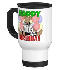 Kids Soccer Birthday Mugs