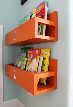 playroom bookcase 5 - Easy DIY