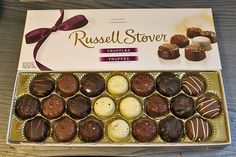 Box Of Russell Stover Assorted Truffles