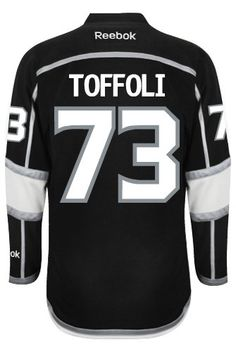 Los Angeles Kings Rookie Tyler TOFFOLI #73 Official Home Reebok NHL Hockey Jersey  2ND Christmas Present Idea for Val!