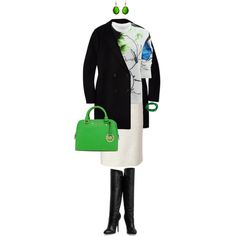 A Punch Of Green, created by angela-windsor on Polyvore