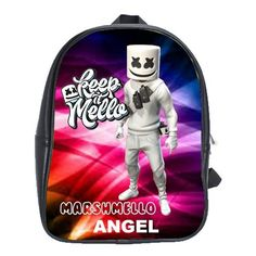 FORTNITE MARSHMELLO EVENT LEATHER XL BACKPACK Marshmello Alone, Dj Marshmello, Gifts For Kids, Great Gifts, Battle Royale, Cool Backpacks, One Pic, Colorful Backgrounds, Leather