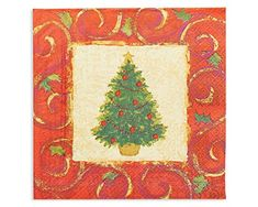 American Greetings 5391829 Christmas Tree Dinner Napkins 16Count Party Supplies  Multicolored * See this great product. (This is an affiliate link)