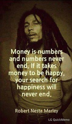 That's y having money means nothing to me