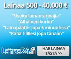 Rahaa,Hintaa,nappulaa,fyrkkaa 2016!: Laina24 2016  Uuden ajan kotimainen lainapalvelu!