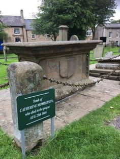 When the plague ended in 1666, 80% of the people of Eyam had died, including Momposson's wife, Katherine