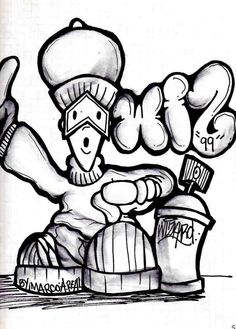 How To Draw Graffiti Characters For Beginners
