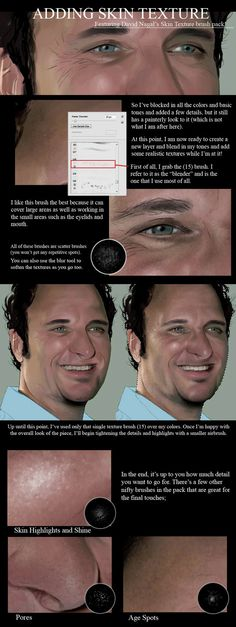Adding Skin Texture by Sheridan-J on DeviantArt
