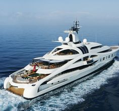 'Palladium' a beautiful megayacht built by Blohm & Vohss in 2010. Length 315 feet