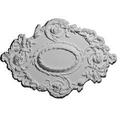Ekena Millwork CM30KI 30 3/8-Inch x 20 3/4-Inch x 1-Inch Kinsley Flowing Leaf Ceiling Medallion * To view further, visit now : home diy improvement