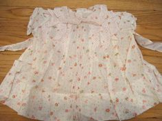 VTG Antique Toddler Baby Lawn Pink Roses SHIRLEY TEMPLE Playpal Doll Dress 30's #Ideal #ClothingAccessories