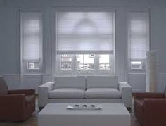 Image result for sheer roller blinds with drapes