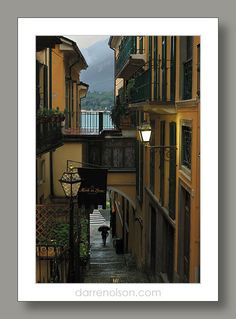 Darren Olson Photography / EIT-V0001 / Bellagio, Lake Como, Italy