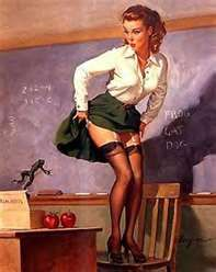 sexy teacher #vintage #retro #stockings #garterstraps #vintagephoto #sexyvintage