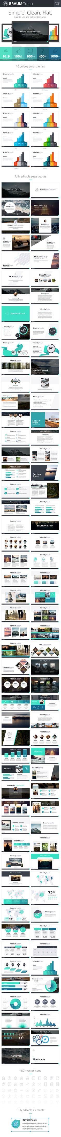 Braum Google slides Presentation Template #design Download: http://graphicriver.net/item/braum-google-slides-presentation-template/13086223?ref=ksioks