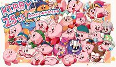 WOOO GAPPY KIRBY 25TH ANNIVERSARY!!!!!