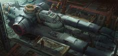 ArtStation - ship repair, mark zhang