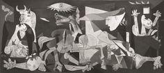 Puzzle RAVENSBURGER 2000 dílků - Picasso, Guernica, 1937