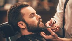 5 Questions to Ask Your Beard Barber - Chattanooga Beard Company Beard beard barber Beard Styles For Men, Hair And Beard Styles, Hair Styles, Men's Grooming, Bart Trend, Well Groomed Beard, Best Beard Growth, Beard Barber, Beard Company