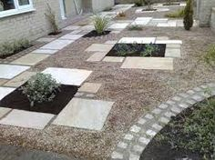 Image result for island beds patio landscaping