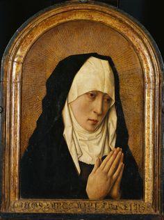 Overdenk uw zonden. Zonde! Dirk Bouts (follower of) [Haarlem, c. 1415 - Leuven, 1475]