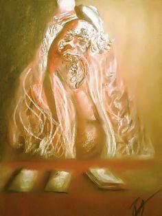 Old Tarot Woman by rossgipson678.deviantart.com on @deviantART