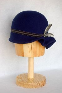 Sombrero de fieltro con adorno gris Luisa Gala