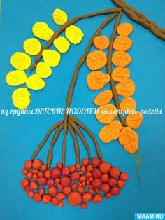 ДЕТСКИЕ ПОДЕЛКИ - Fall Crafts For Toddlers Clay Art Projects, Clay Crafts, Projects For Kids, Diy And Crafts, Arts And Crafts, Paper Crafts, Fall Crafts For Toddlers, Toddler Crafts, Preschool Crafts