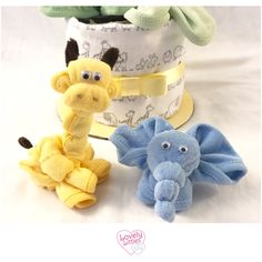 Wash cloth animals are here! Check out our latest friends!