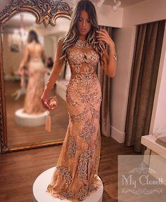 Vestido madrinha, vestido rose, vestido de festa, evening dress, vestido de renda, vestido nude, renda bordada, vestido de manga, red carpete dress, vestido de pedraria