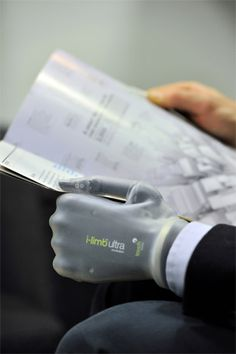 prosthetic limbs image | Touch Bionics Unveils i limb ultra revolution Prosthetic Hand With iOS ...