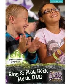 VBS-Cave Quest-Sing & Play Rock Music DVD (Dec)