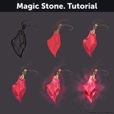 Magic Stone. Tutorial by Anastasia-berry  Support the artist on Patreon!