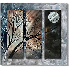 @Overstock - Artist: Megan Duncanson  Title: Full Moon  Product type: Metal wall sculpturehttp://www.overstock.com/Home-Garden/Megan-Duncanson-Full-Moon-Metal-Wall-Art/5196039/product.html?CID=214117 $310.99