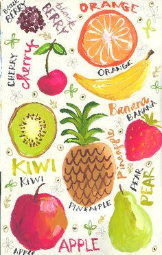 Fruit print inspiration ideas for 2019 Fruit Illustration, Pattern Illustration, Food Illustrations, More Wallpaper, Pattern Wallpaper, Iphone Wallpaper, Surface Pattern Design, Pattern Art, Image Girly