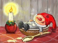 Волшебные иллюстрации Asa Gustafsson - Ярмарка Мастеров - ручная работа, handmade