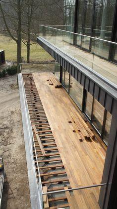 Vlonder aanleg project Duin & Beek